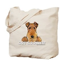 Welsh Terrier Cookies Tote Bag