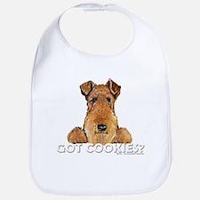 Welsh Terrier Cookies Bib