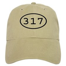 317 Oval Baseball Cap