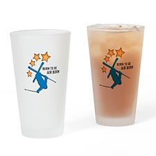 Air Born Drinking Glass