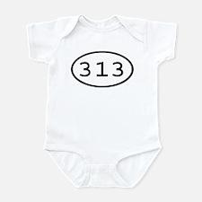 313 Oval Infant Bodysuit