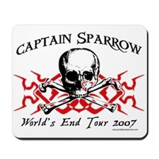 Captain Sparrow Tour Mousepad