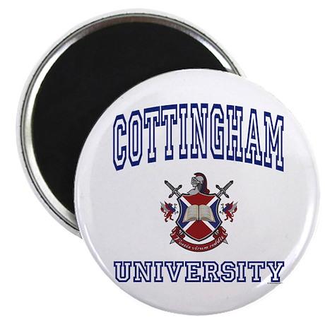 """COTTINGHAM University 2.25"""" Magnet (10 pack)"""