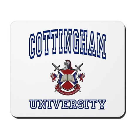 COTTINGHAM University Mousepad