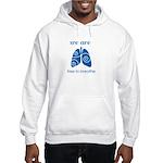 We Are Free To Breathe Hoodie Hooded Sweatshirt