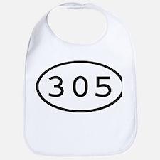 305 Oval Bib