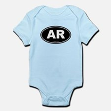 Arkansas AR Euro Oval Infant Bodysuit