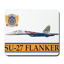 Su-27 Russian Knights Mousepad