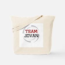 Jovan Tote Bag