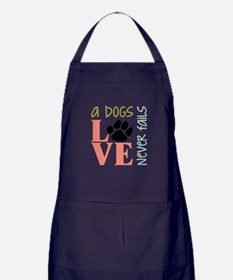 A Dogs Love Apron (dark)