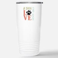 A Dogs Love Travel Mug