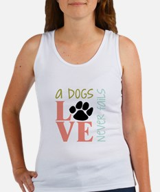 A Dogs Love Tank Top