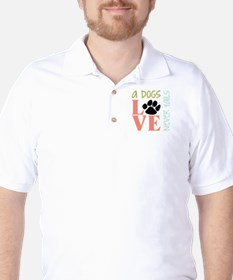 A Dogs Love T-Shirt