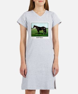 "Thoroughbred ""Bold Ruler"" Women's Nightshirt"