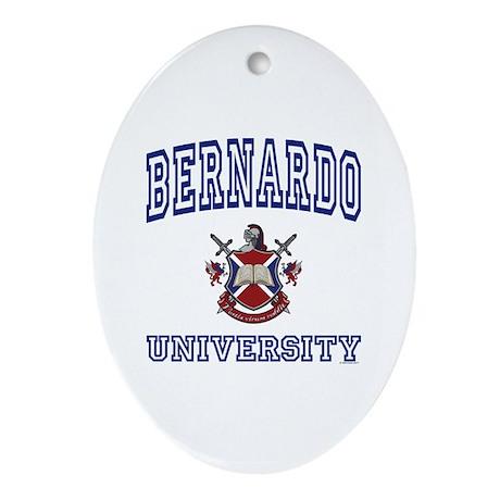 BERNARDO University Oval Ornament