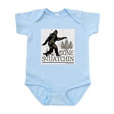 Sasquatch Gone Squatchin Body Suit
