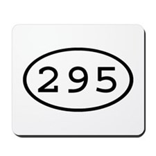 295 Oval Mousepad