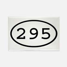 295 Oval Rectangle Magnet