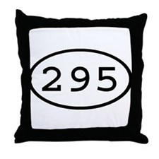 295 Oval Throw Pillow