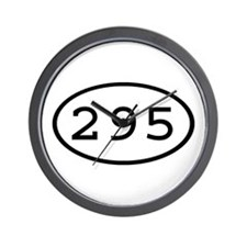 295 Oval Wall Clock