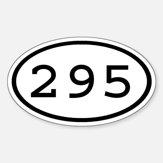 295 Oval Oval Decal