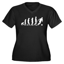 Soccer Evolution Plus Size T-Shirt