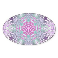 vintage bohemian abstract p Decal