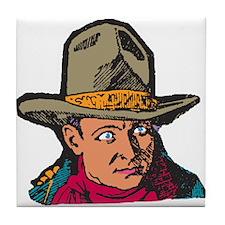 Movie Cowboy #1 Tile Coaster