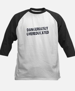Dangerously Overeducated Baseball Jersey