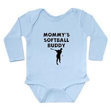 Mommys Softball Buddy Body Suit