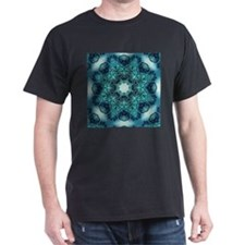 vintage turquoise bohemian abstract pattern T-Shir