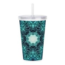Cute Patterns damask Acrylic Double-wall Tumbler