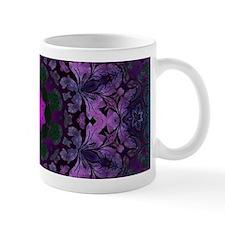 vintage bohemian purple abstract pattern Mugs