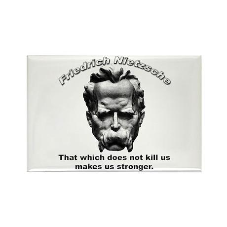 Friedrich Nietzsche 06 Rectangle Magnet (10 pack)