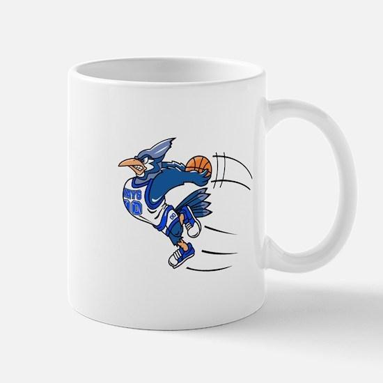blue jay basketball Mugs