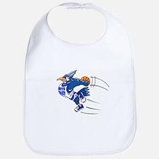 blue jay basketball Bib