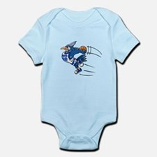 blue jay basketball Body Suit