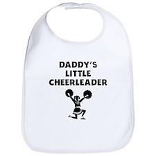 Daddys Little Cheerleader Bib