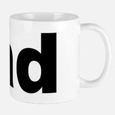 Father's Day Dad Title Mug