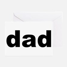 Father's Day Dad Title Greeting Cards (Package of