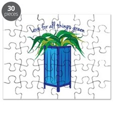 Love All Things Green Puzzle