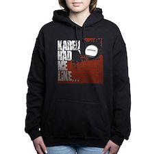 Karen Wallballs Women's Hooded Sweatshirt
