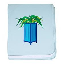 Plant baby blanket