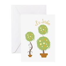 Le Jardin Greeting Cards