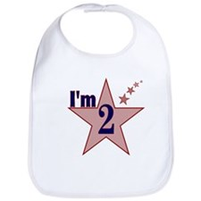 I'm 2 Boys Birthday Bib