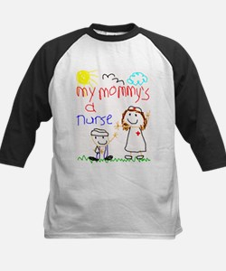 Nurse Mommy! Kids Baseball Jersey