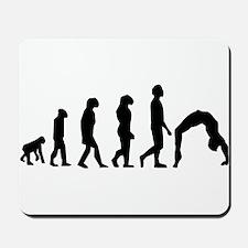 Gymnastics Evolution Mousepad