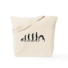 Gymnastics Evolution Tote Bag