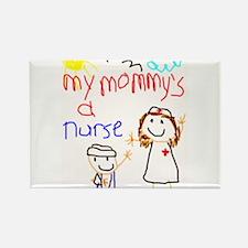 Nurse Mommy! Rectangle Magnet