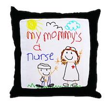 Nurse Mommy! Throw Pillow